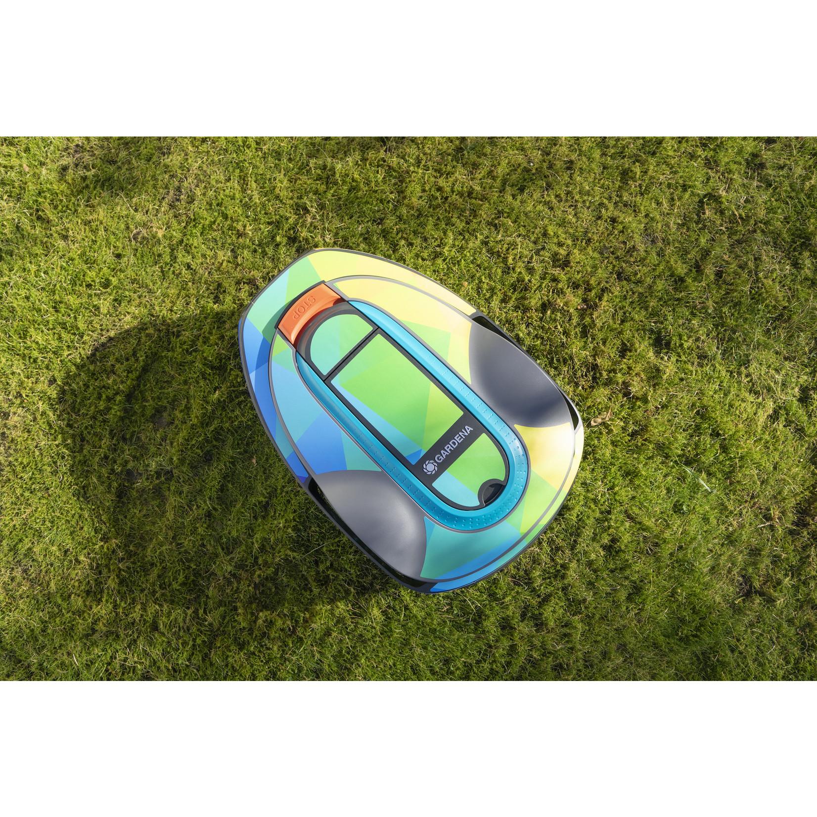 Twinckels Twinckels robotmaaier stickerset (Gardena Sileno) - Geo Regenboog