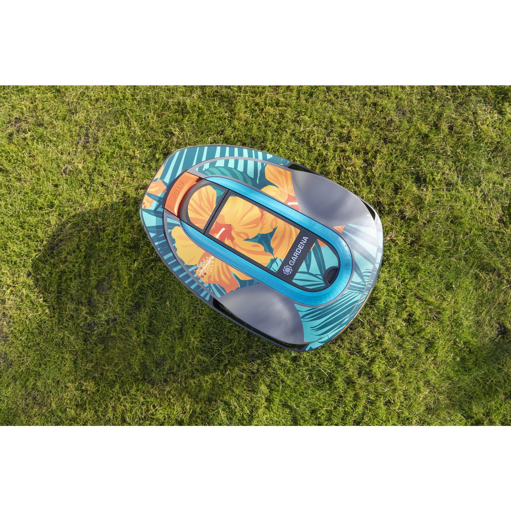 Twinckels Twinckels robotmaaier stickerset (Gardena Sileno) - Hawai