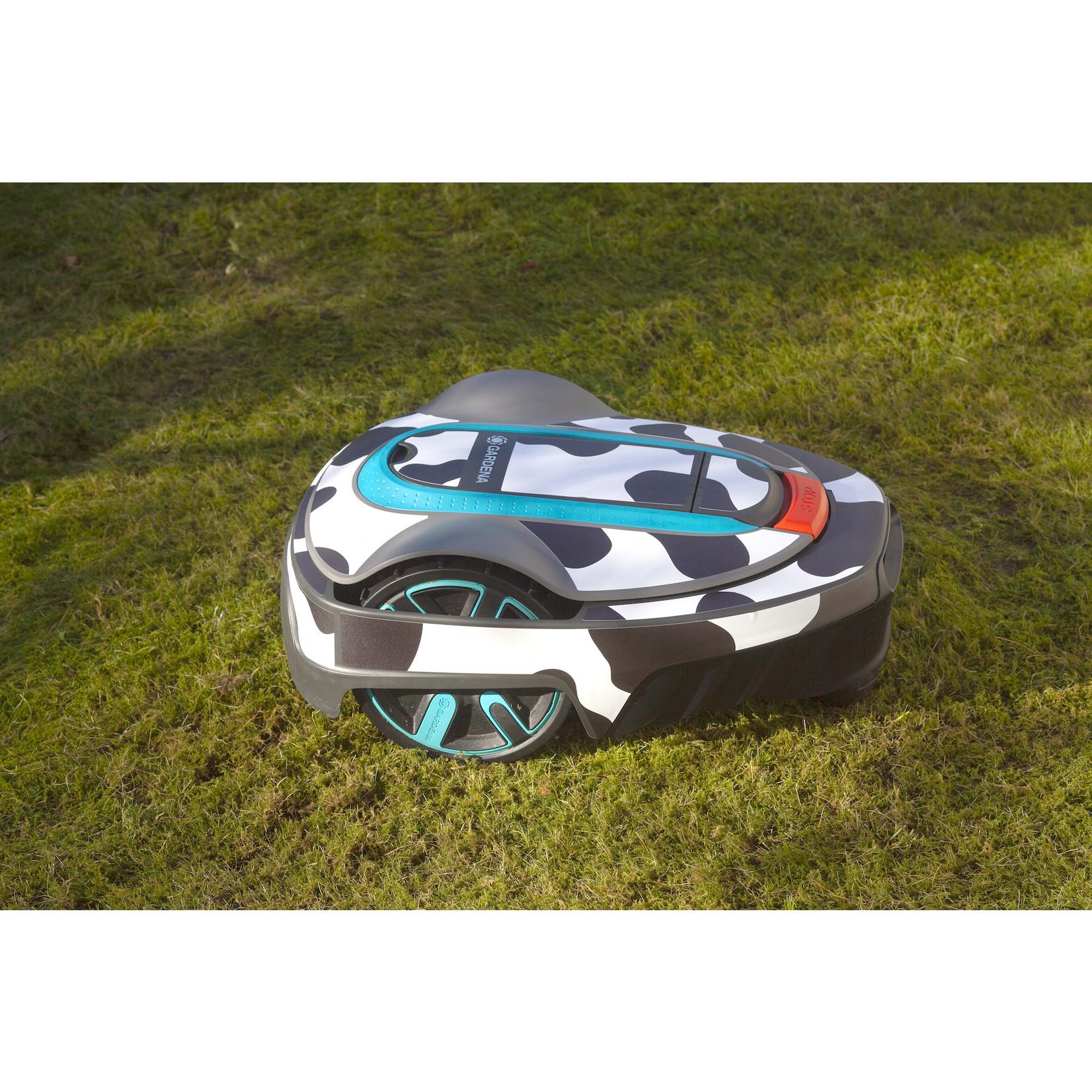 Twinckels Twinckels robotmaaier stickerset (Gardena Sileno) - Koe