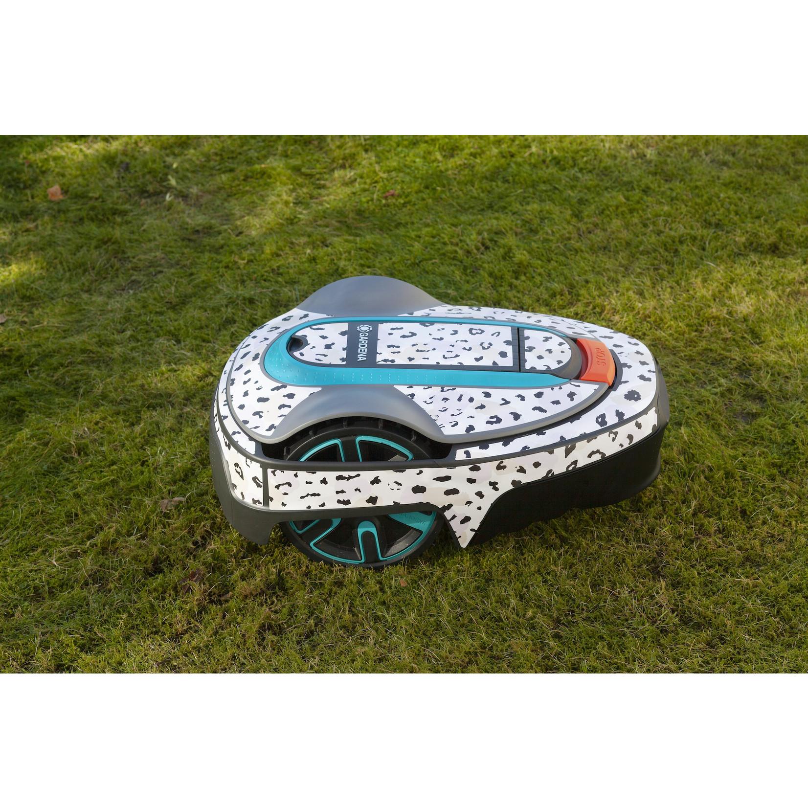 Twinckels Twinckels robotmaaier stickerset (Gardena Sileno) - Panter Roze