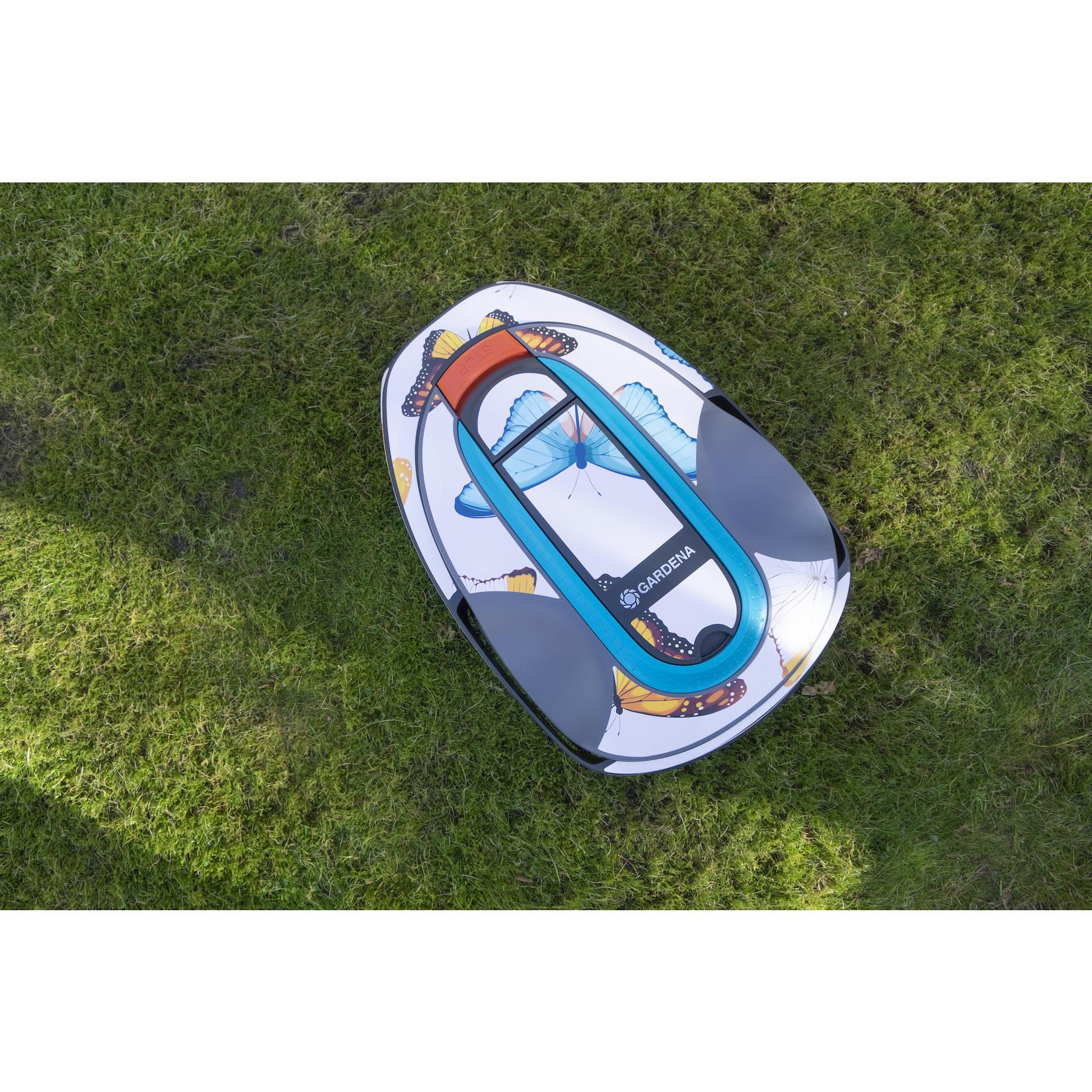 Twinckels Twinckels robotmaaier stickerset (Gardena Sileno) - Vlinder 3