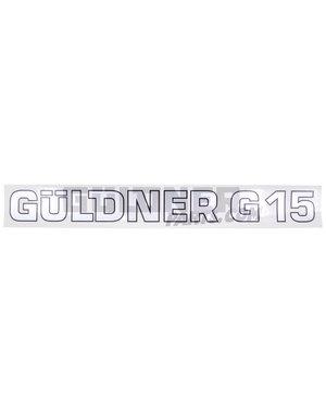 Güldner Schriftzug G15