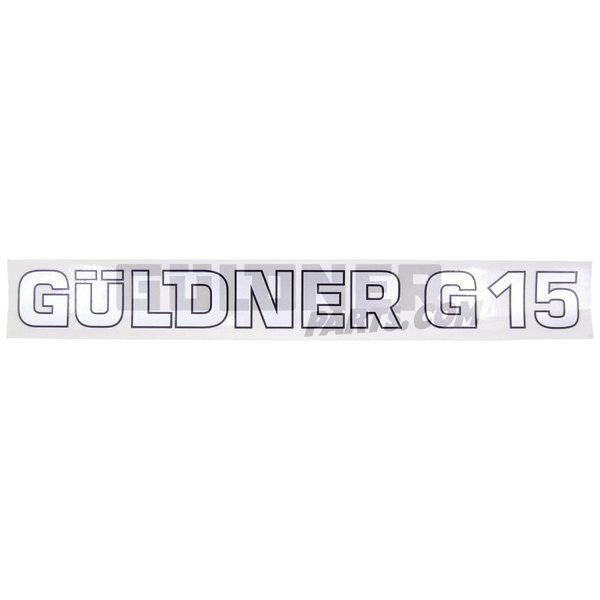 Güldner Schriftzug Güldner G15