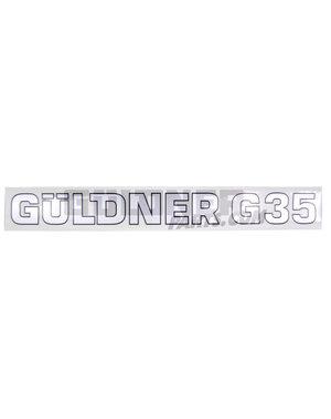 Güldner Schriftzug G35