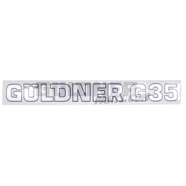 Güldner Schriftzug Güldner G35