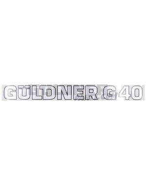 Güldner Schriftzug G40