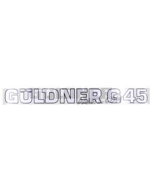 Güldner Schriftzug G45