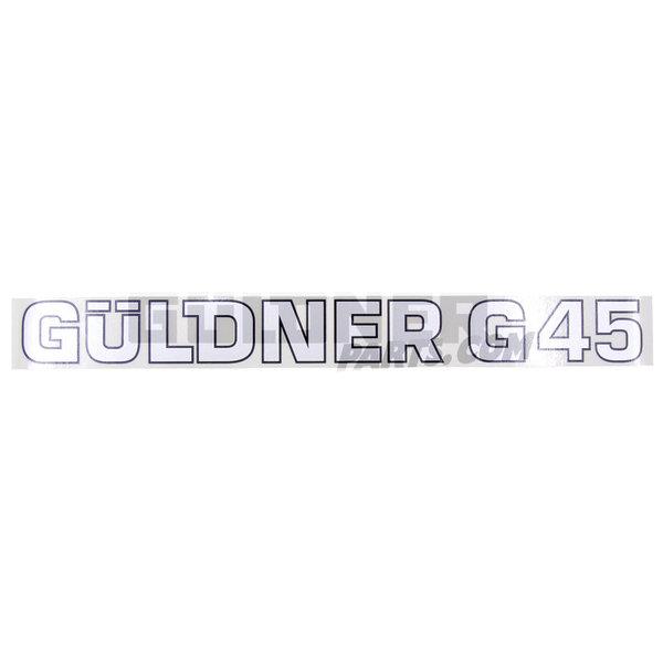 Güldner Schriftzug Güldner G45