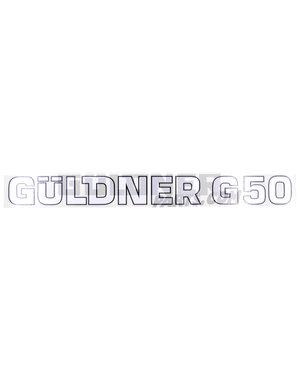 Güldner Schriftzug G50