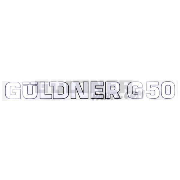 Güldner Schriftzug Güldner G50