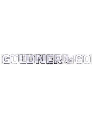 Güldner Schriftzug G60