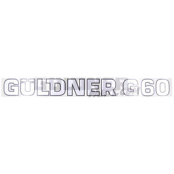 Güldner Schriftzug Güldner G60