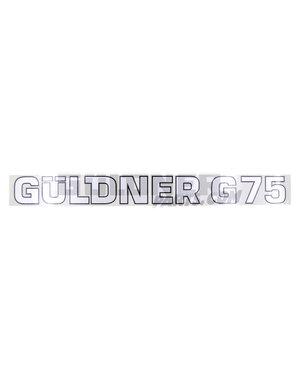 Güldner Schriftzug G75