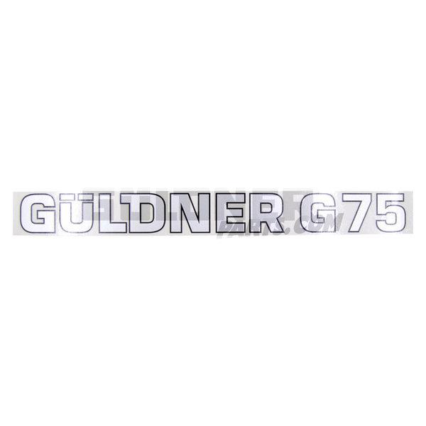 Güldner Schriftzug Güldner G75