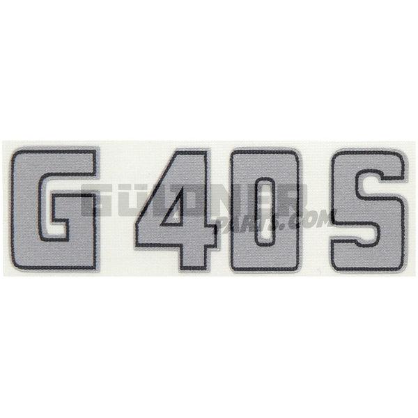 Güldner Dasboard embleem G-serie