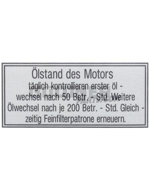 Güldner Sticker motorolie
