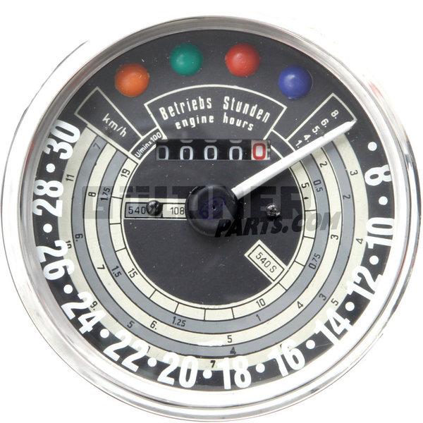 Güldner Tractormeter 2500 omw./min 30 km/u