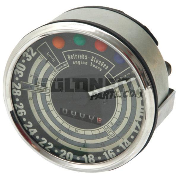 Güldner Tractormeter 2500 omw./min 32 km/u