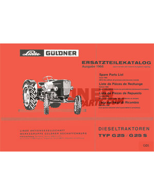 Güldner Ersatzteilliste G15