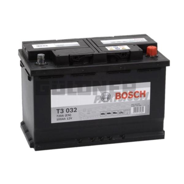 BOSCH Batterie T3 12 V / 100 Ah