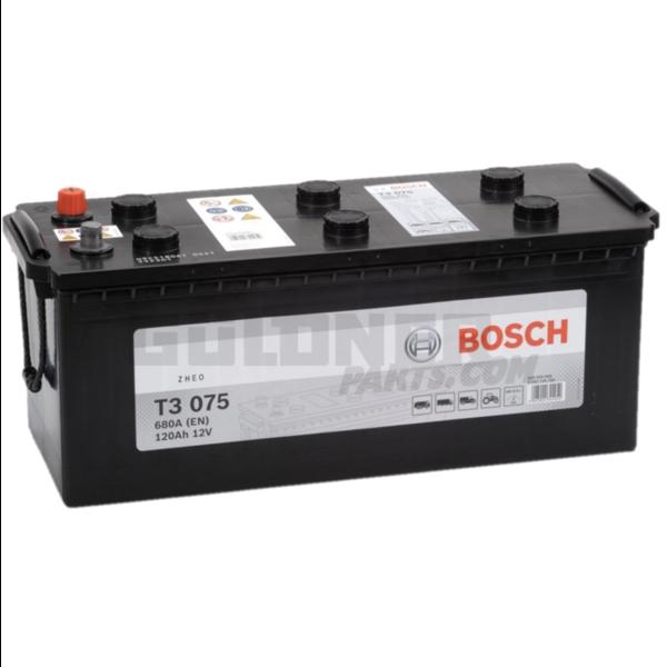 BOSCH Batterie T3 075 12 V / 120 Ah