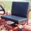 Güldner Set zitkussens rood incl. toebehoren