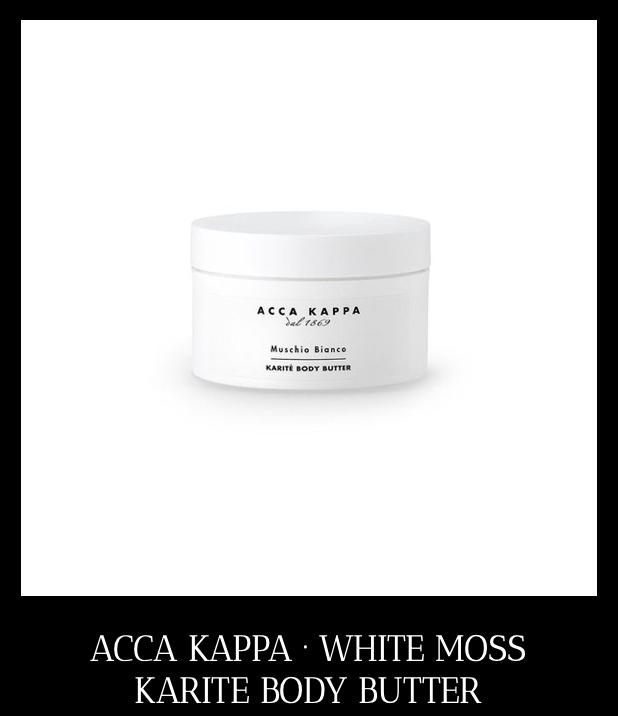 ACCA KAPPA Karite Body Butter - tegen droge huid