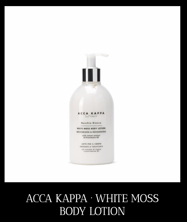 ACCA KAPPA White Moss - body lotion voor droge huid