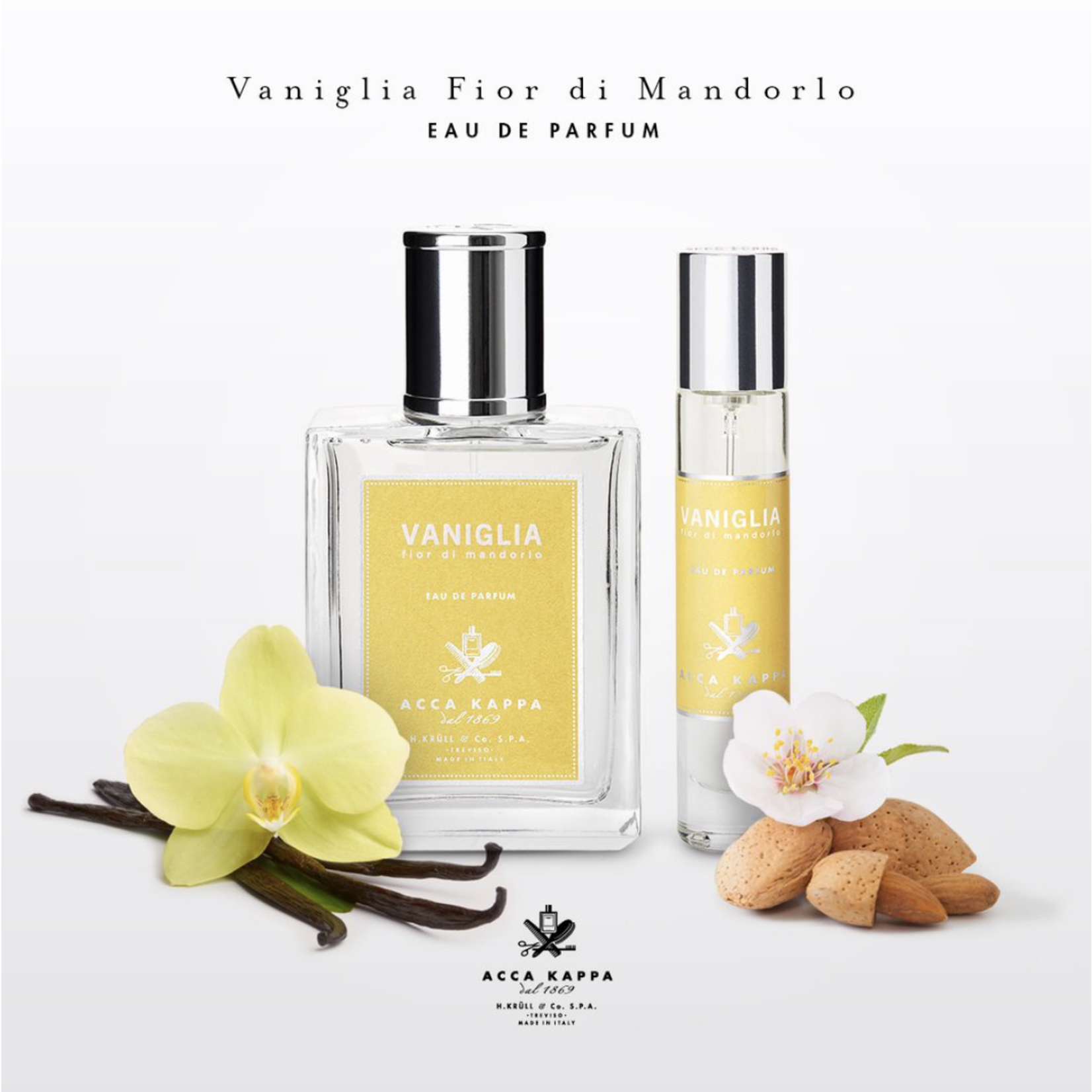 ACCA KAPPA ACCA KAPPA · VANIGLIA & FIOR DI MANDORLA 100ML