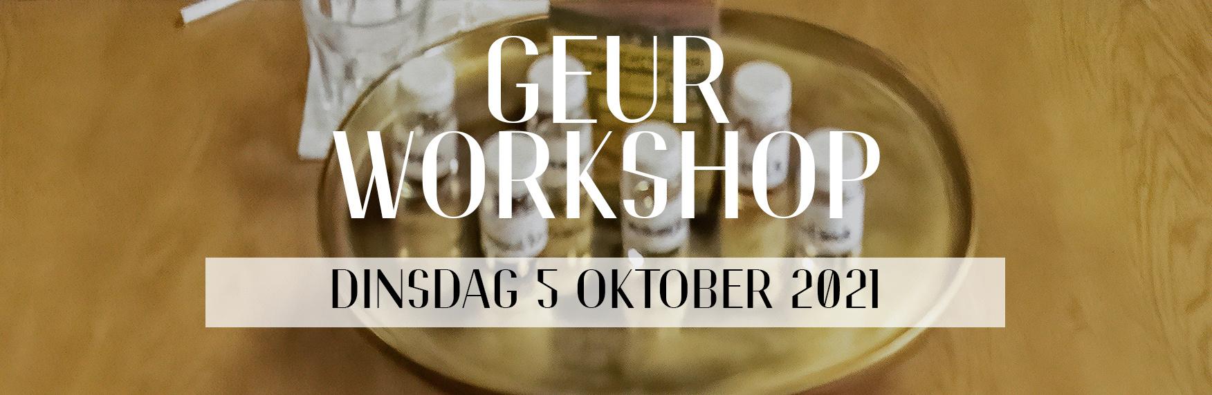 Geur workshop: Parfum [5 oktober 2021]