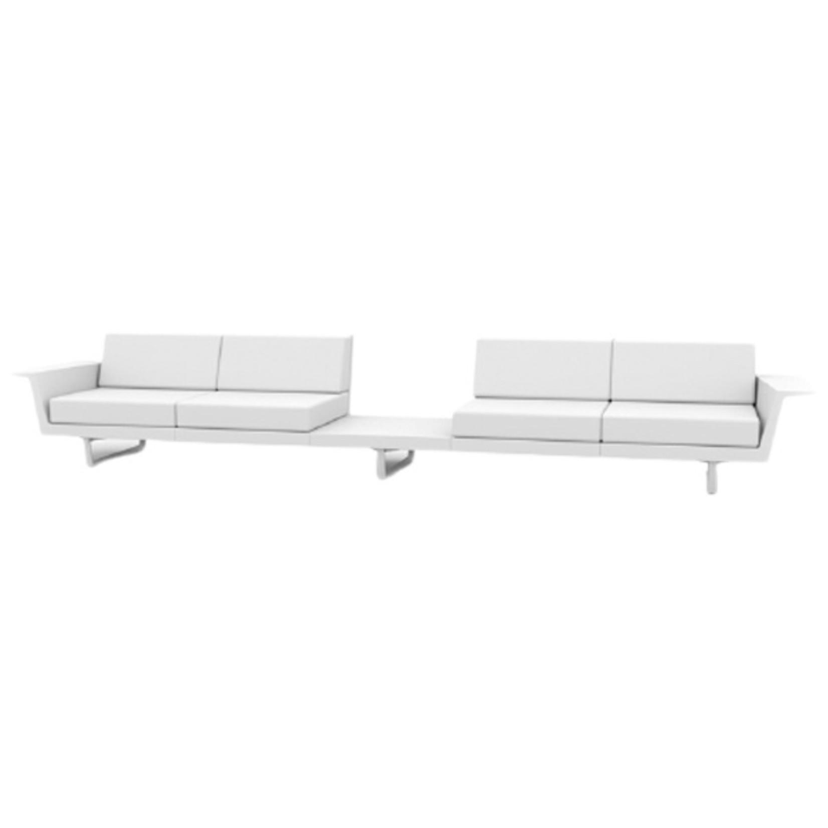 Vondom DELTA Sofa 4 seat + Table