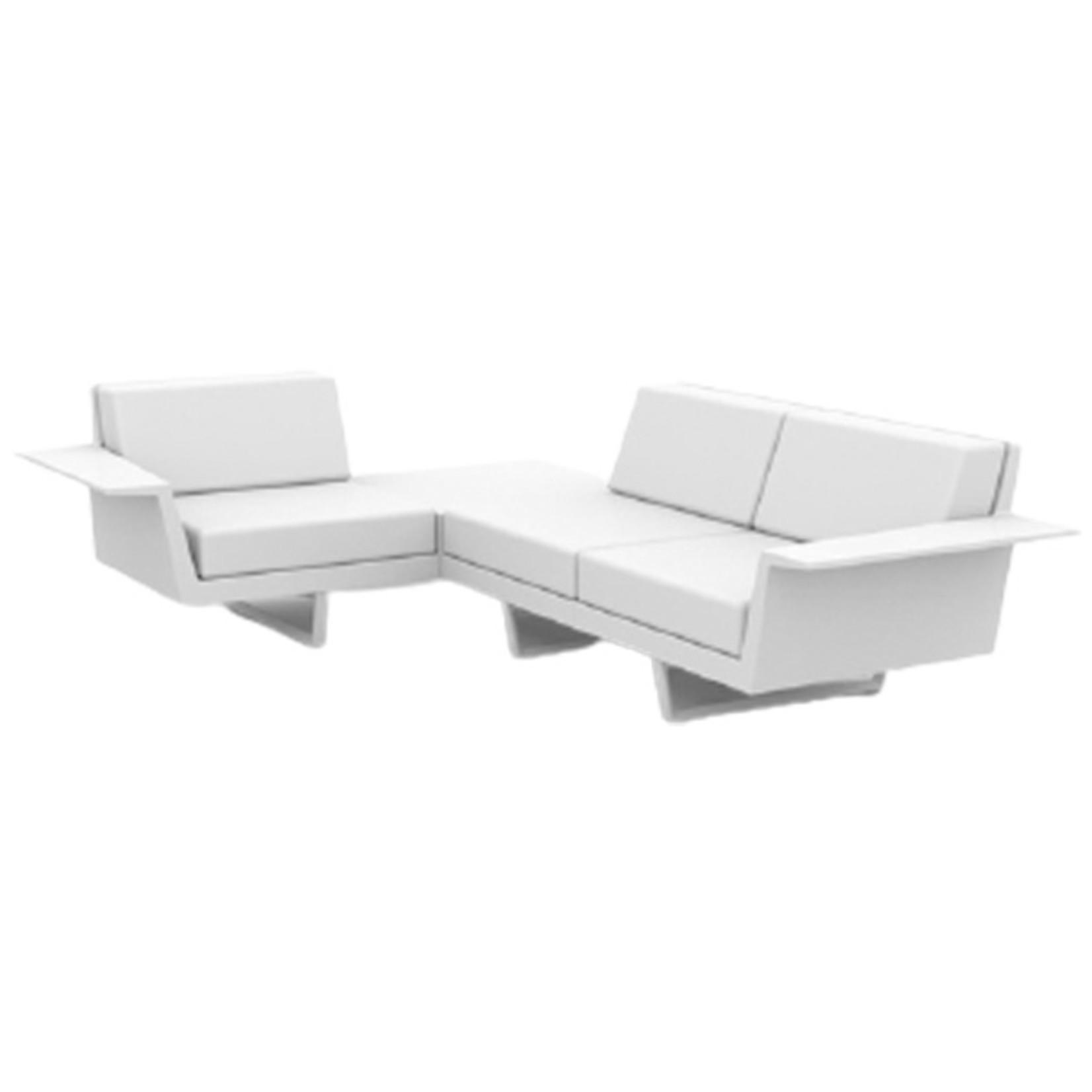 Vondom DELTA Corner Sofa 3 seat right