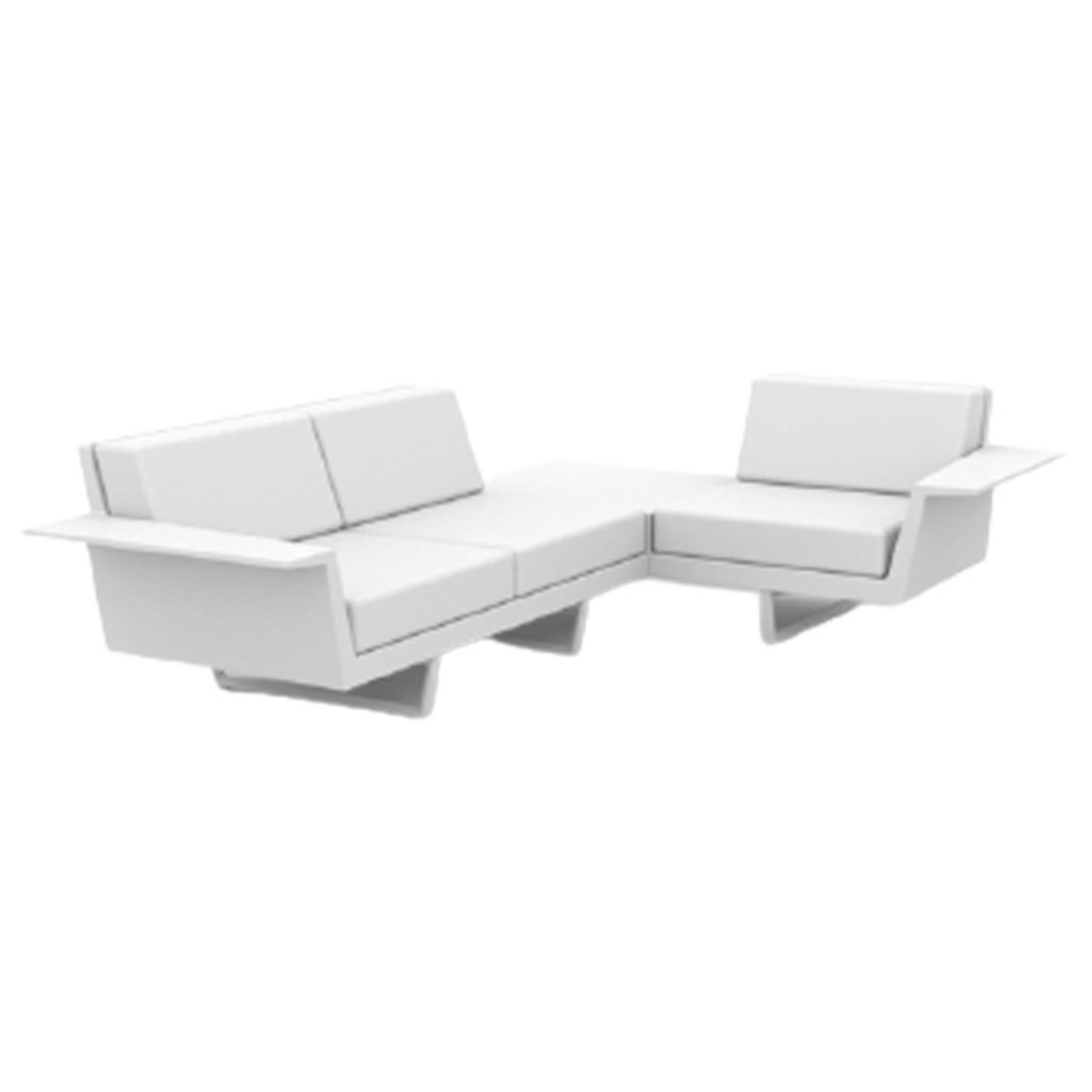 Vondom DELTA Corner Sofa 3 seat left
