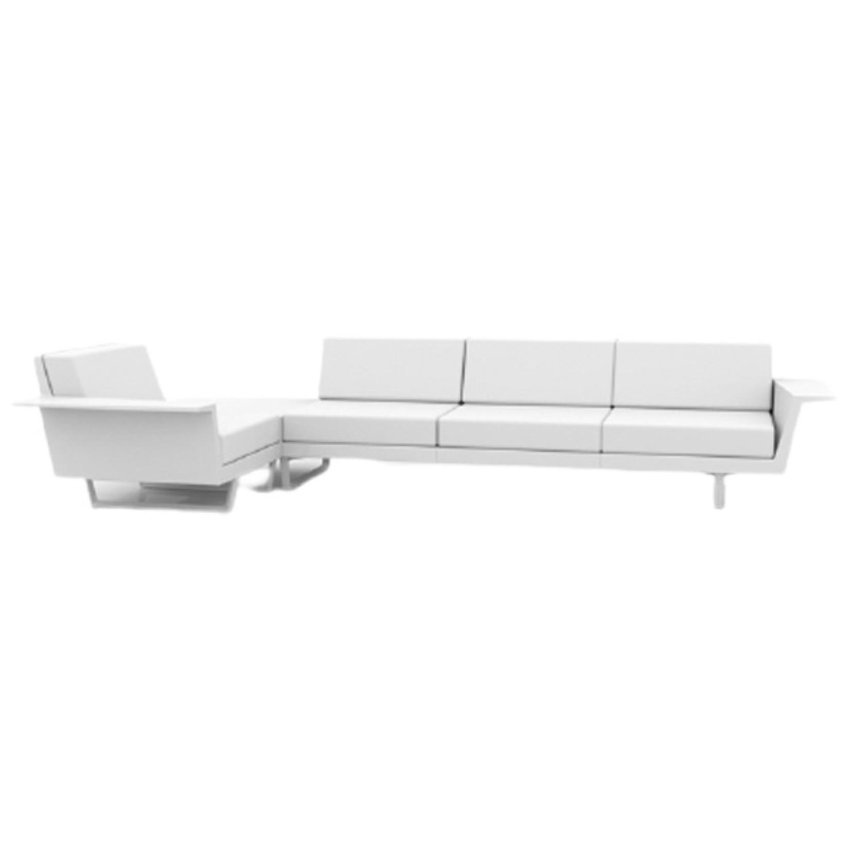 Vondom DELTA Corner Sofa right 4 seat