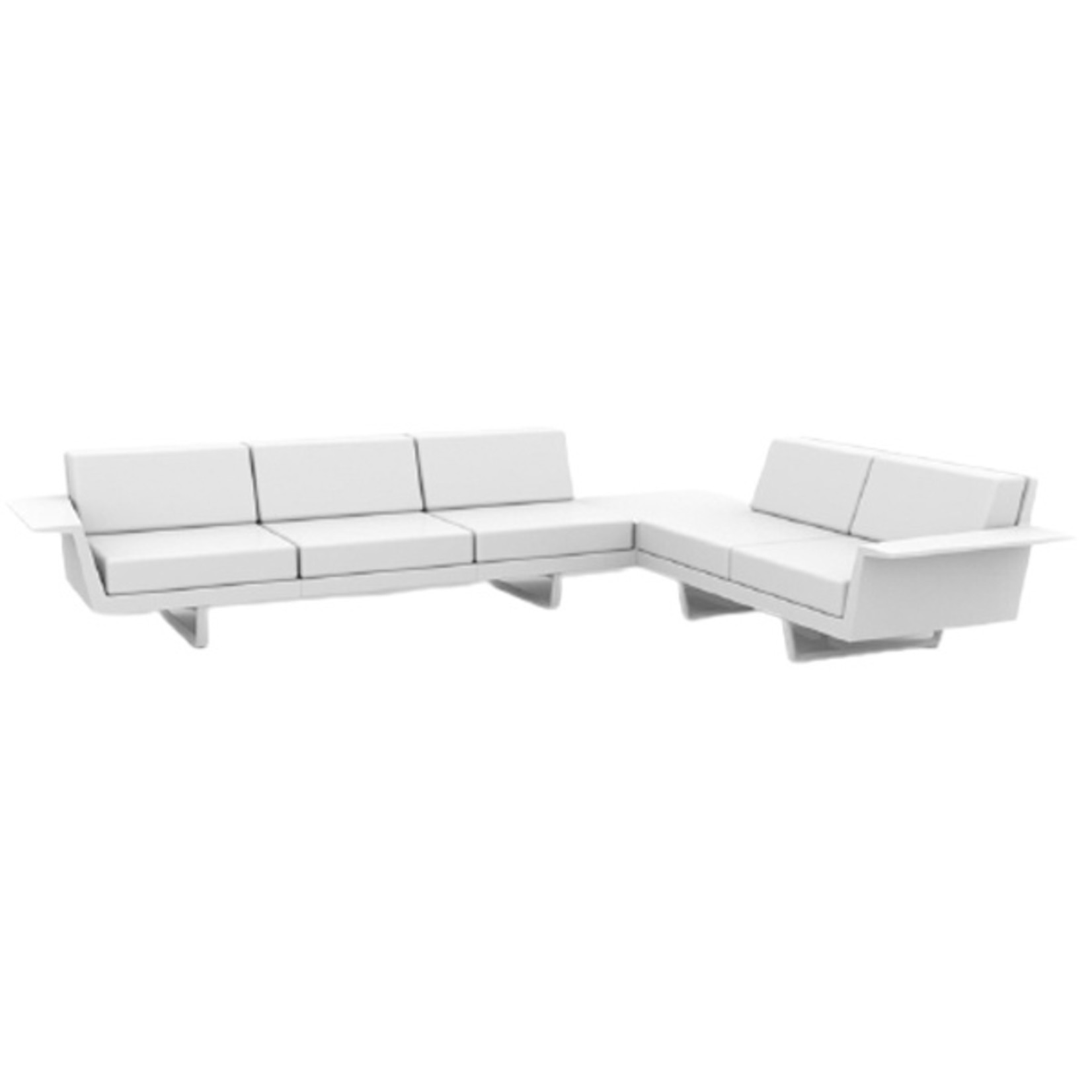 Vondom DELTA Corner Sofa left 5 seat