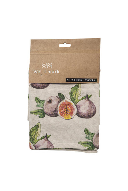 Kitchen towel fig