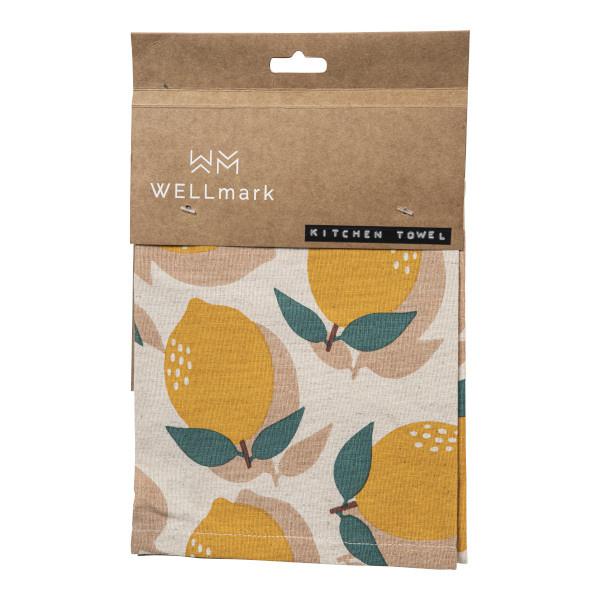 Kitchen towel lemon-1