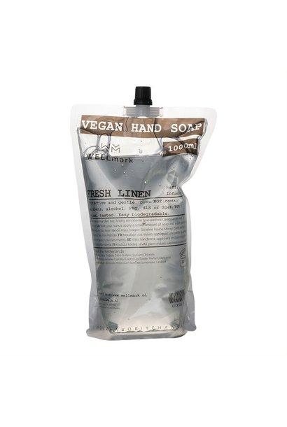 Navulverpakking handzeep frisse linnen 1L
