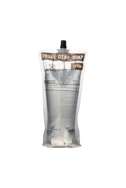 Navulverpakking afwasmiddel bamboe 1L