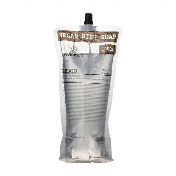 Navulverpakking afwasmiddel bamboe 1L-1
