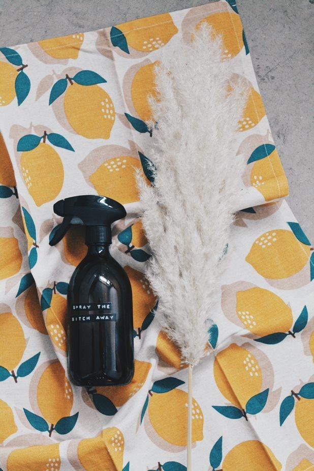 Kitchen towel lemon-2