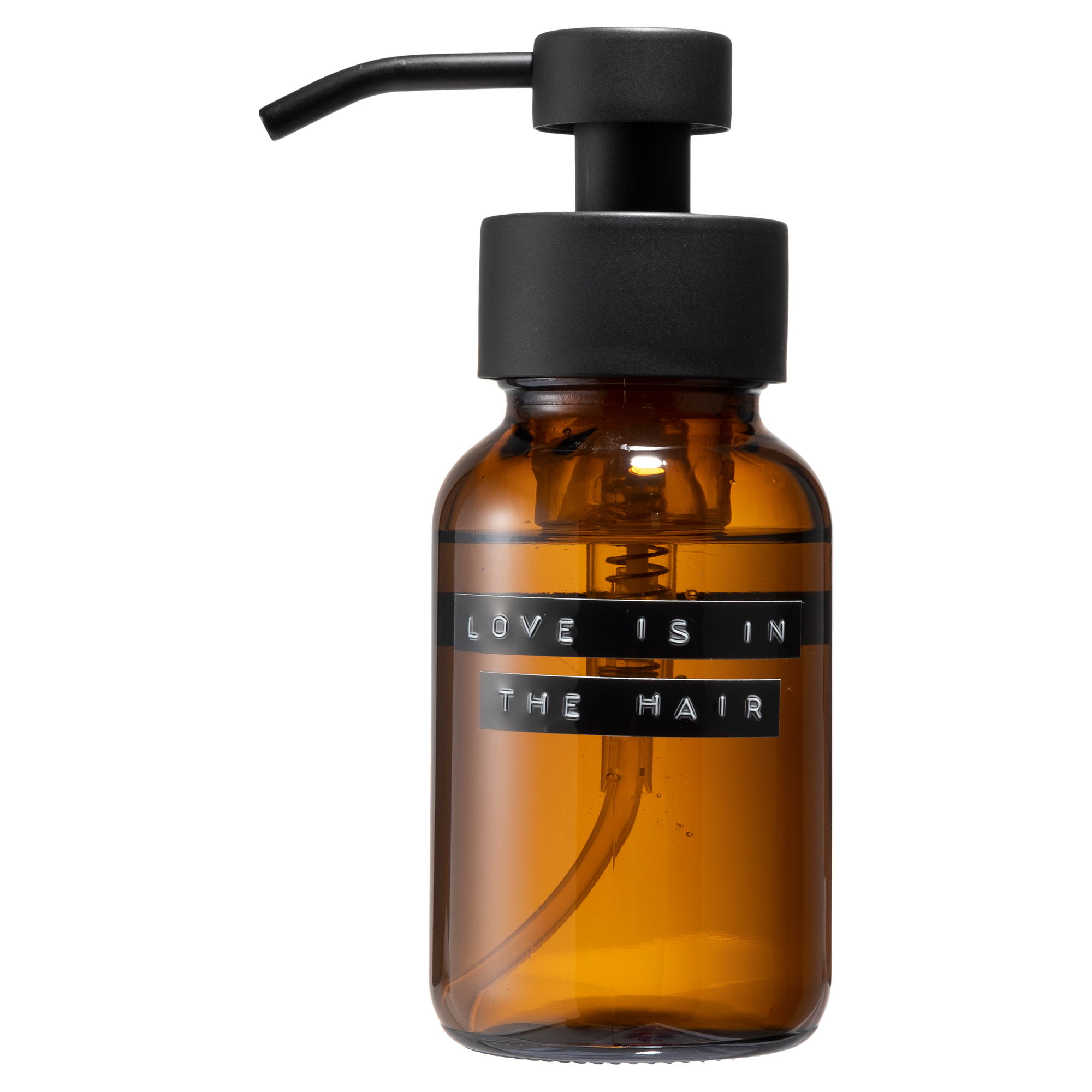 Shampoo bruin zwart 250ml 'love is in the hair'-1