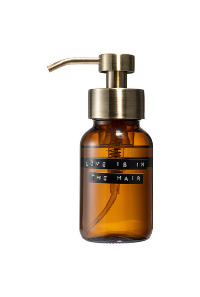 Shampoo amber brass 250ml 'love is in the hair'