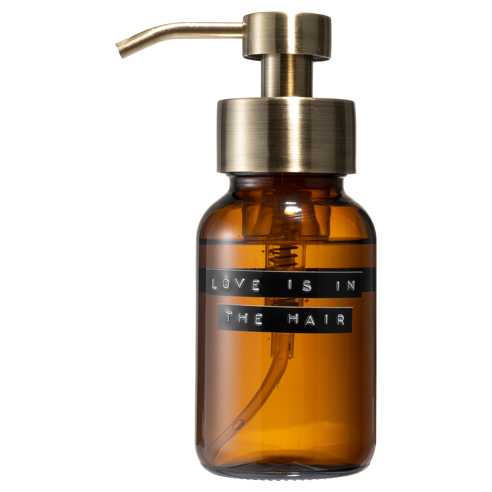 Shampoo amber brass 250ml 'love is in the hair'-1