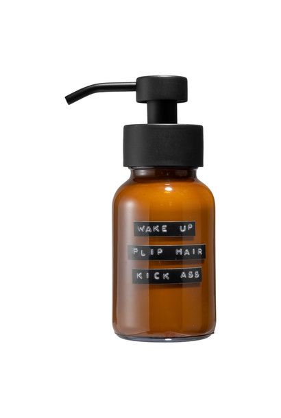 Conditioner amber black 250ml 'wake up-flip hair-kick ass'