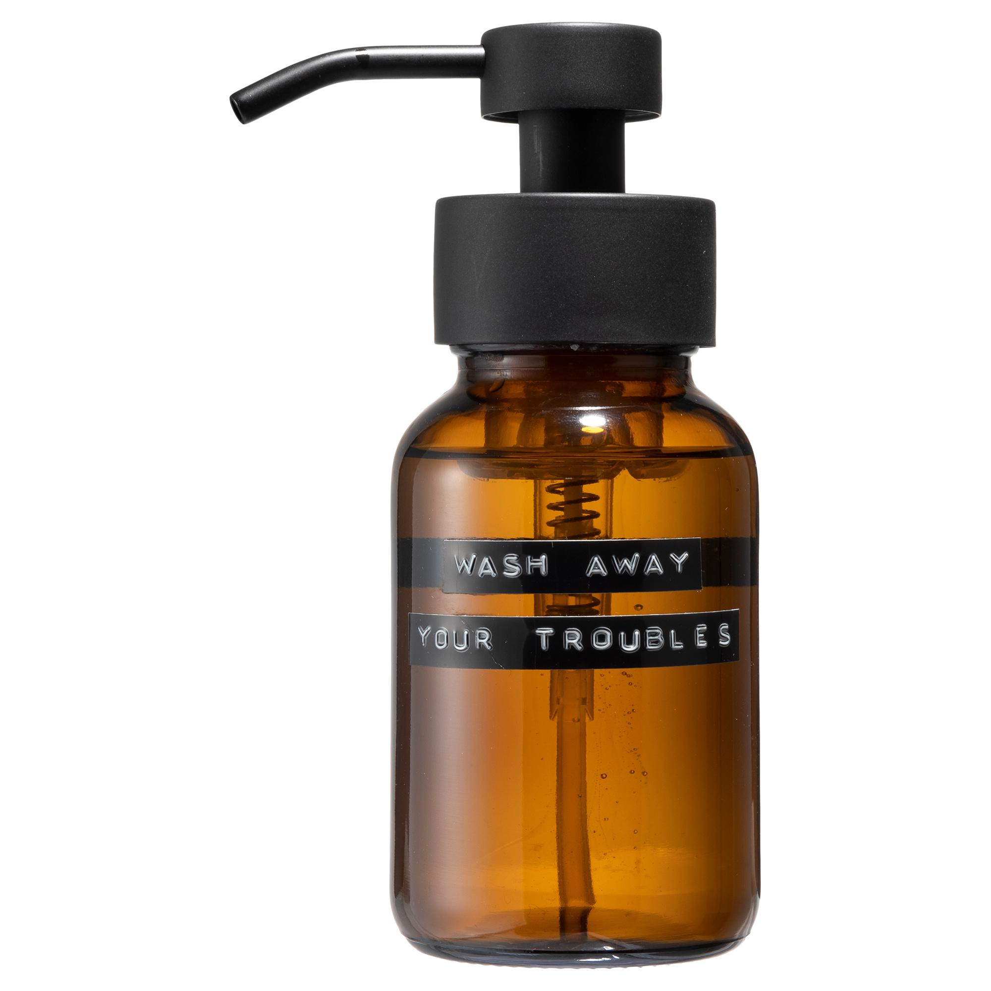 Body wash bruin zwart 250ml 'wash away your troubles'-1