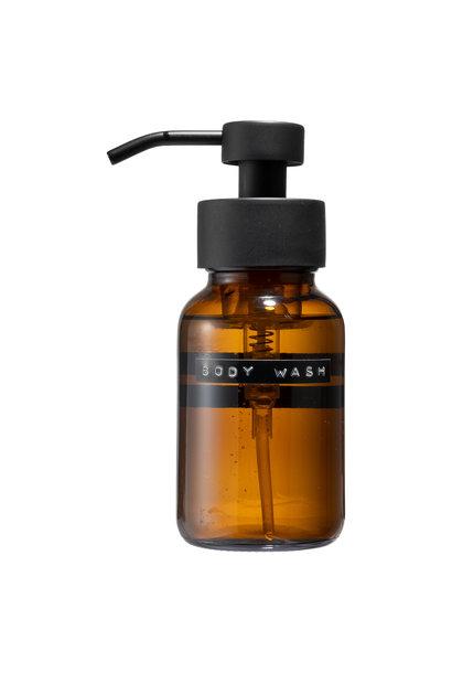 Body wash bruin zwart 250ml 'body wash'