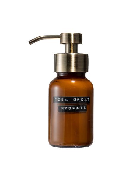 Body Lotion amber brass 250ml 'feel great hydrate'