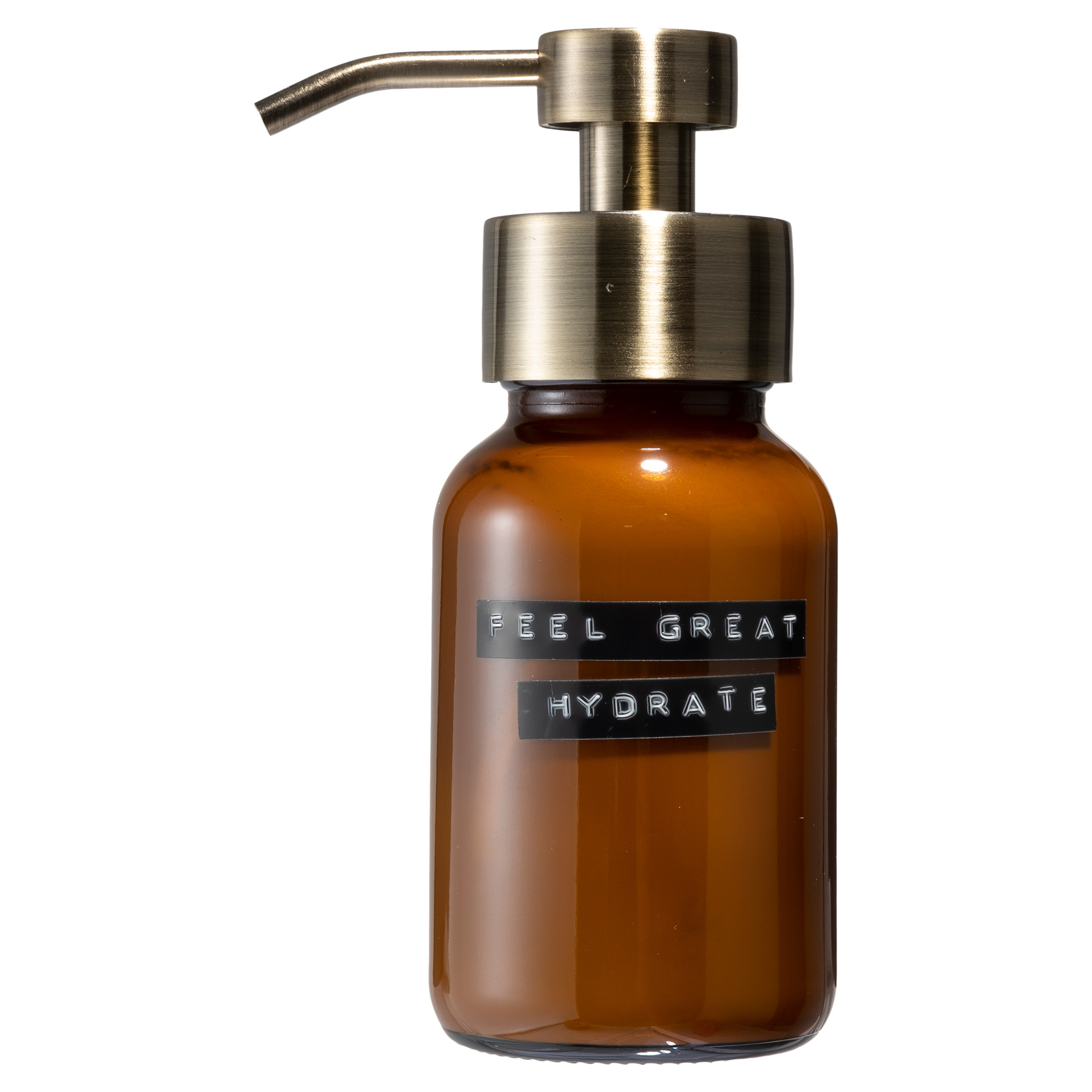 Body Lotion amber brass 250ml 'feel great hydrate'-1