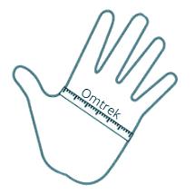 Info Gloves sizes